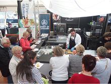 Démonstration culinaire au Grand Prix Guyader