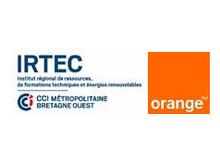 Signature d'une convention Orange et Irtec Quimper