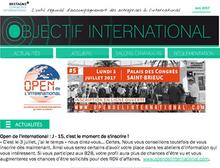 Lettre Objectif International