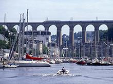 Port de plaisance de Morlaix (crédit photo : CCIMBO Morlaix)