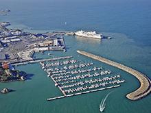 Le port de plaisance de Roscoff certifié Port actif en biodiversité (crédit photo : GPO)
