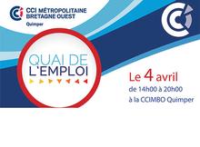 Quai de l'emploi : le 6 avril 2019 à la CCIMBO Quimper