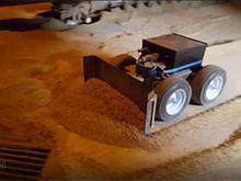 Un robot dans les silos du port de Brest