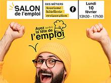 Salon de l'emploi des métiers du tourisme, hôtellerie, restauration le 10 février 2019 à Brest, Morlaix et Quimper