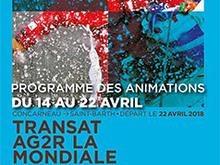 Transat AG2R La Mondiale 2018 : programme des animations