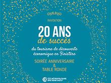Le tourisme de découverte économique en Finistère fête ses 20 ans le 8 novembre à Quimper