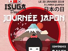 Isuga Days : journée Japon le 20 janvier 2018 à Quimper