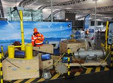 Aérogare Brest Bretagne : exposition sur les énergies marines renouvelables jusqu'au 27 août 2018