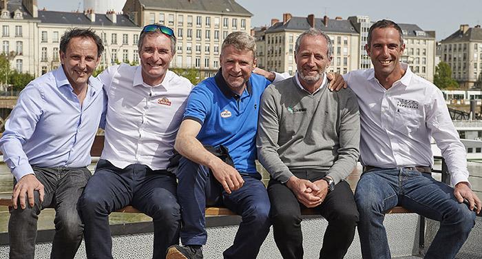 La Solitaire Urgo Le Figaro : les cinq anciens vainqueurs (credit_photo : yvan_zedda)