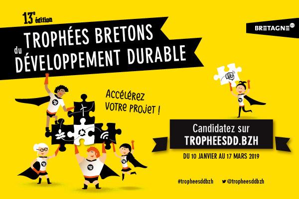 13è édition des Trophées bretons du développement durable : candidatez jusqu'au 17 mars 2019 !