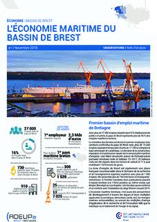 L'économie maritime du bassin de Brest
